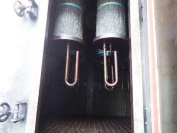 集塵機定期メンテナンス フィルター交換