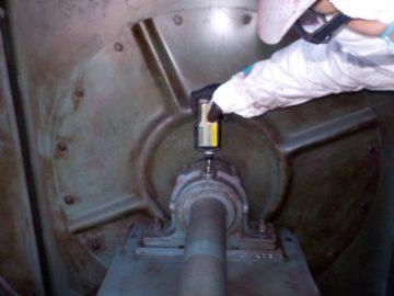 集塵機 エアレギュレーター交換