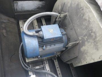 集塵機 風量測定・フィルター交換