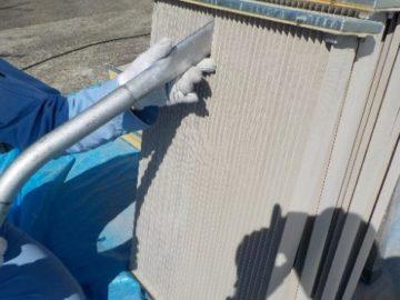 排風機 ベアリング異音修理