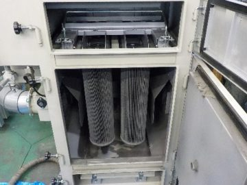 集塵機 天板腐食補修