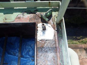 集塵機 ダイヤフラムシート交換