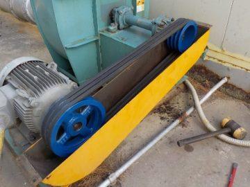集塵機 ロータリーバルブローター交換