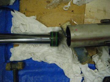 集塵機 差圧計交換作業