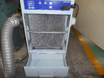 集塵機 吸引力低下 フィルター交換